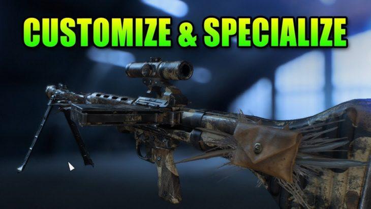 Come specializzare le proprie armi sbloccate in Battlefield V