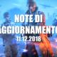 Note di aggiornamento 11.12.2018 di Battlefield V
