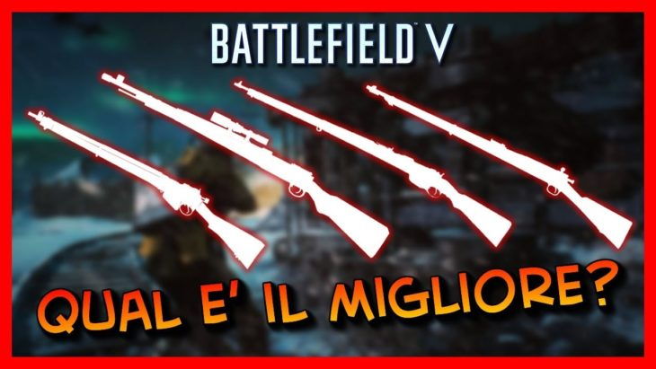 Guida dei Bolt Action presenti in Battlefield V