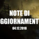 Note aggiornamento Capitolo 1: Preludio di Venti di Guerra in Battlefield V