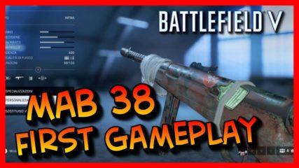 Battlefield V – MAB 38 in Azione First Gameplay